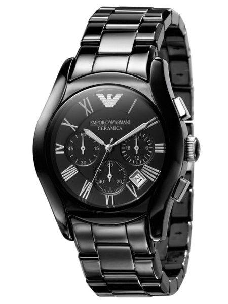 004bba6a13348 Emporio Armani Men s Valente Ceramica Ceramic Chronograph Watch - The Watch  Cabin