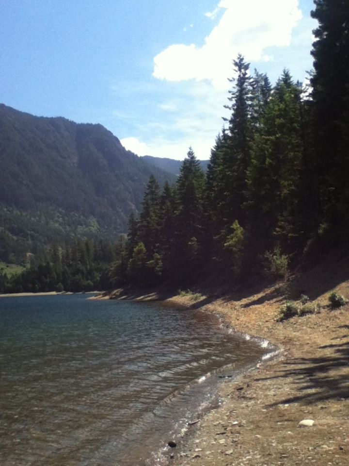 Buttle Lake Campground, Strathcona Provincial Park, Vancouver Island BC