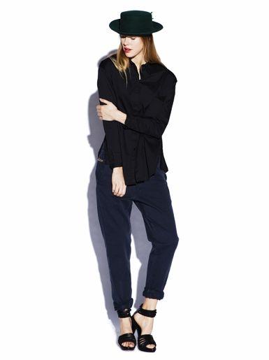 Woven Shirt - Black » Freudian Kicks » Designers » Freudian Kicks