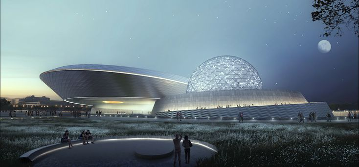 Shanghai Planetarium by Ennead Architects, planetarium architecture, Shanghai Planetarium, Shanghai Science and Technology Museum planetarium, Shanghai museum architecture