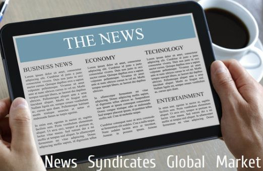 Global #News Syndicates Market Forecast Market Size.