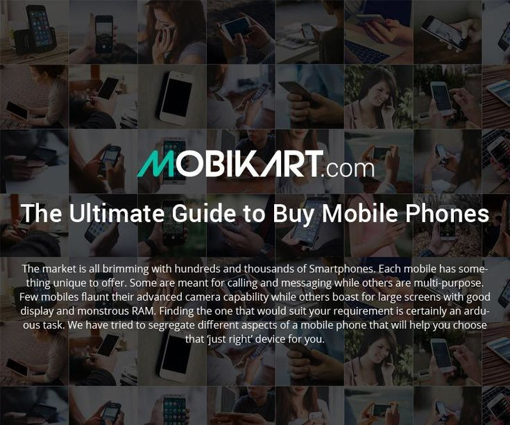Guide to Buy Mobile Phones