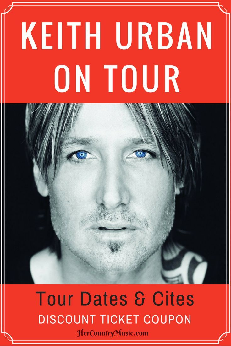 Keith Urban Tour Dates, Cities, Tickets at http://HerCountryMusic.com Get up-to-date Keith Urban concert news!