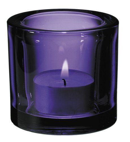 Iittala Kivi - Lilac votive