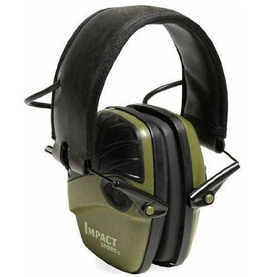 Impact Sport Electronic Earmuff shooting ear protection ear muff hearing protect #HowardLeight