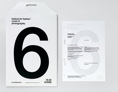 """""""6"""" - festival for fashion music & photography"""