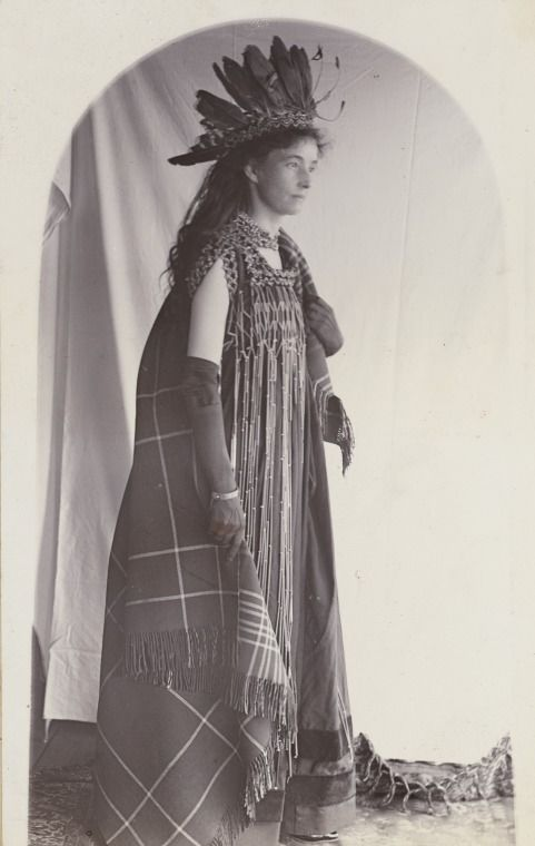 BA338/1/45: Bessie Laffer in fancy dress for the Roebourne Ball, 1898. https://encore.slwa.wa.gov.au/iii/encore/record/C__Rb4721799