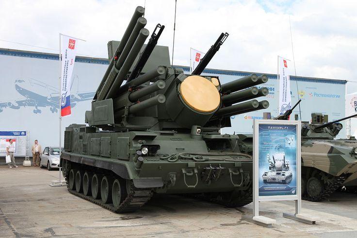 Russian Pantsir S1