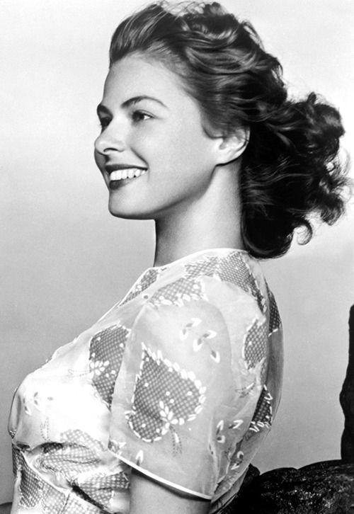 Ingrid Bergman ~ Casablanca, 1942