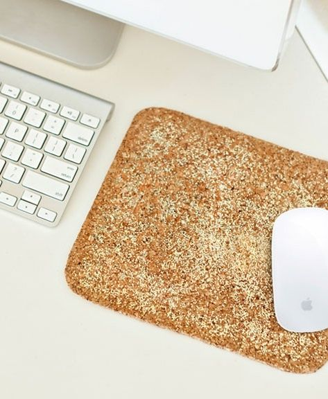 glitter mouse pad