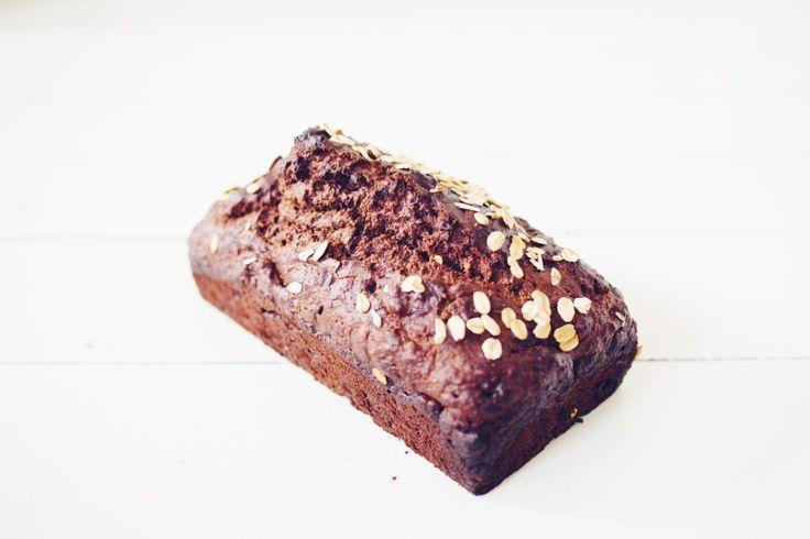 havermout chocolade cake