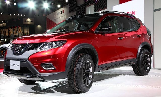 2017 Nissan Rogue - facelift front www ...