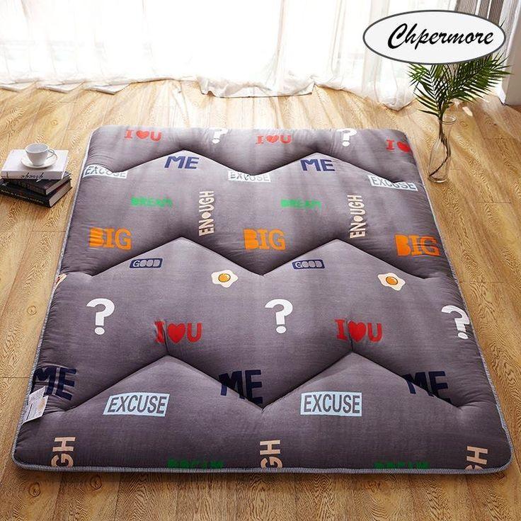 Chpermore 1.8m Foldable Mattresses 1.5m Thicken Foam