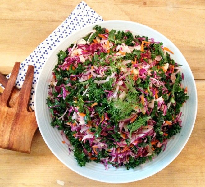 A healthy summer coleslaw to take to every summer barbecue