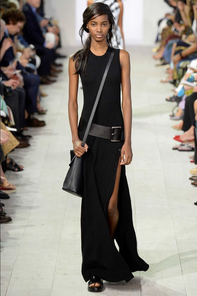 Michael Kors Collection Spring 2016 Ready-to-Wear Collection Photos - Vogue- I like the simplicity of this dress, not sure about such a high slit though