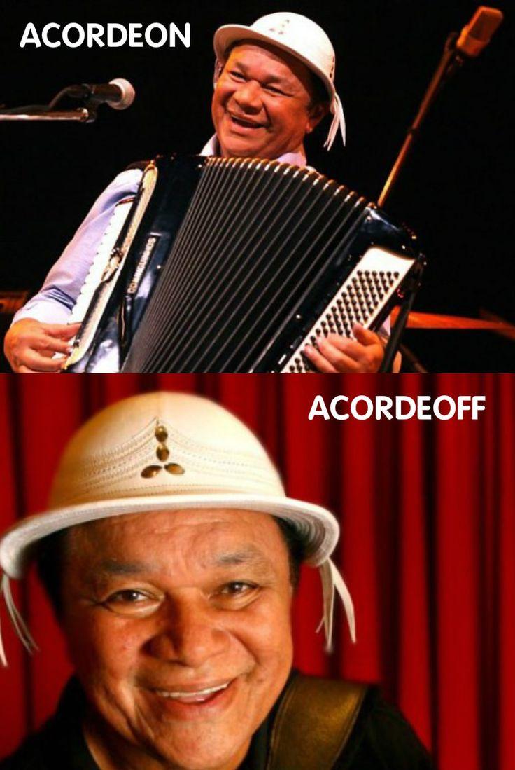 Acordeon e Acordeoff  Inscreva-se no canal de piadas e trocadilhos no Youtube: https://goo.gl/BSpg3b