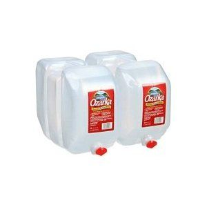 plastic 25 gallon water bottles