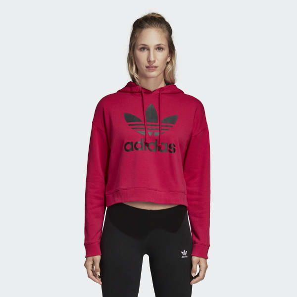 fc8a6cdc5a LEOFLAGE Crop Hoodie in 2019 | Wants List | Adidas, Hoodies, Cropped ...