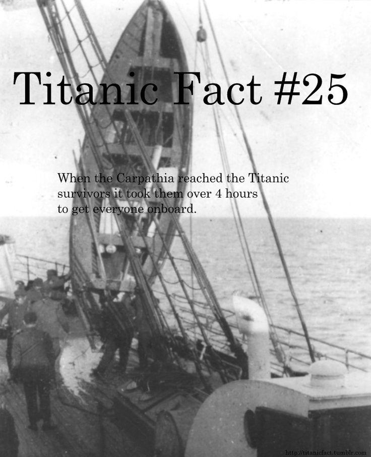 79 Best Titanic 7 Facts Images On Pinterest Titanic