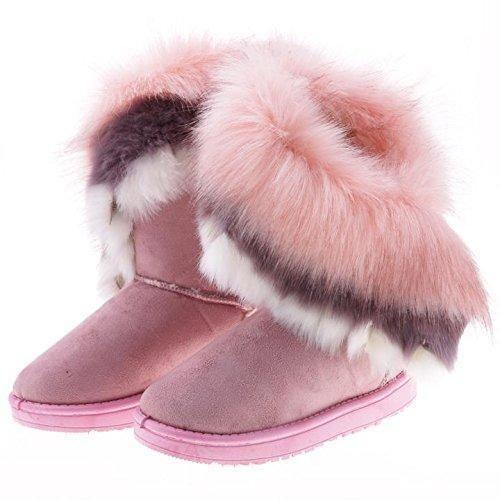 Oferta: 19.9€. Comprar Ofertas de ZEARO Botas Planas de Nieve Zapatos de Invierno Botas Clásicas para mujer barato. ¡Mira las ofertas!