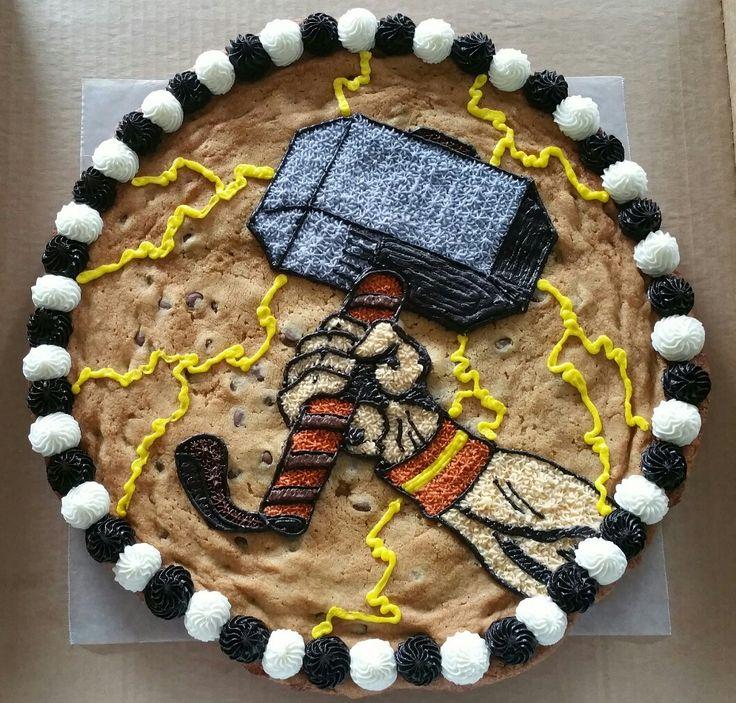 Thor cookie cake.