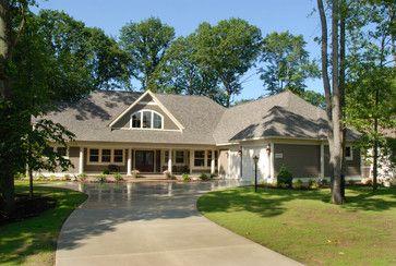 single story home exterior - Single Story Home Exterior