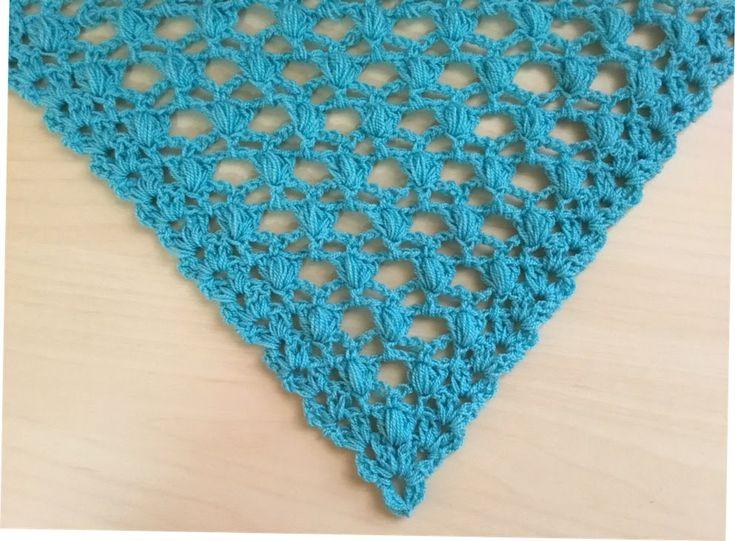 Precioso chal tejido a crochet facil de tejer / Châle au crochet facil