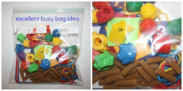 lacing busy bag
