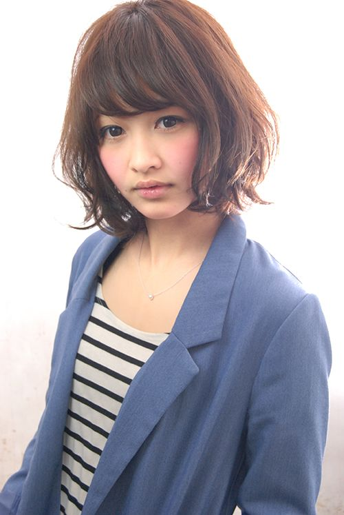 ルージーナチュラルボブ | ヘアカタログ | ヘアサロン(東京青山/大阪/神戸)K-two effect
