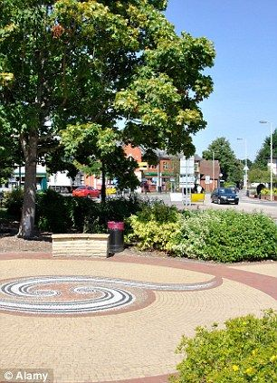 Hook is one of the towns in the Hart district of Hampshire, which has the the UK's best quality of life