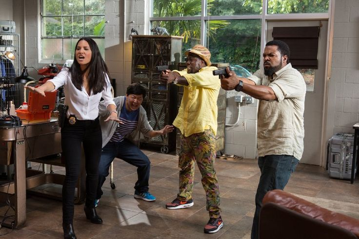Ice Cube, Kevin Hart, Olivia Munn and Ken Jeong in Ride Along 2
