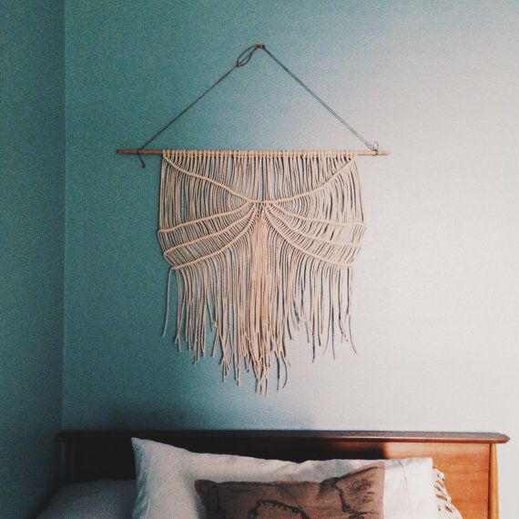 58 best images about macrame on pinterest urban outfitters ace hotel and bohemian. Black Bedroom Furniture Sets. Home Design Ideas