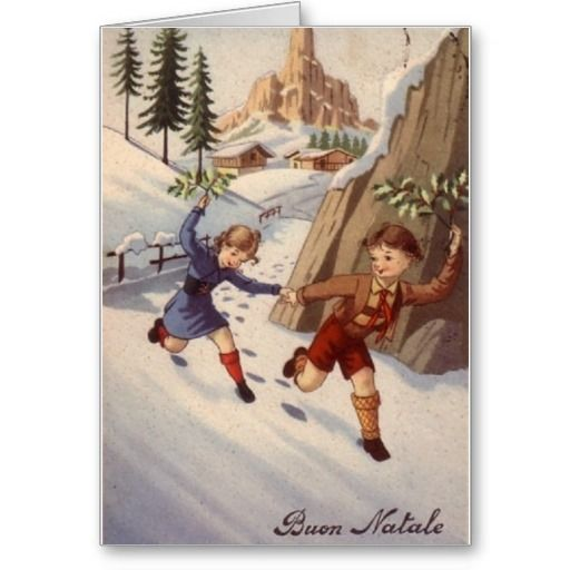 10 Best Images About Italian Christmas Cards Greetings On