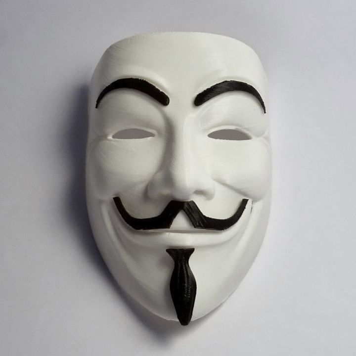 Anonymous Mask Full Size Image