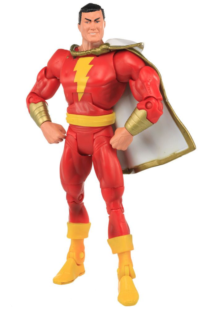"""7/"""" Shazam DC Super Hero Justice League Captain Marvel Action Figure Billy Batson"""