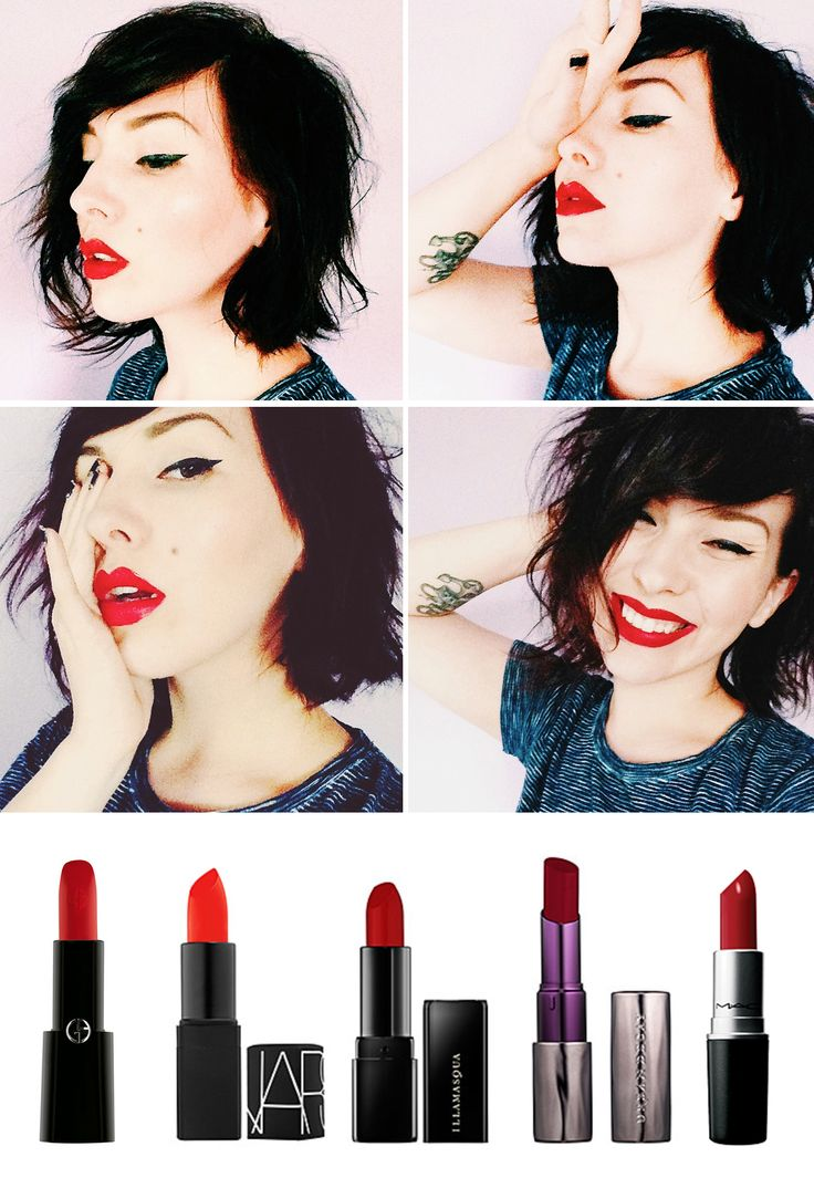 Red lipstick colors