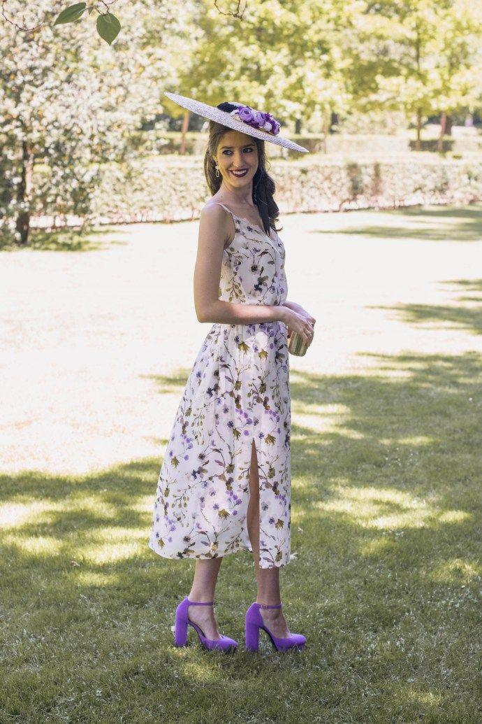 Vestido largo para boda por la manana