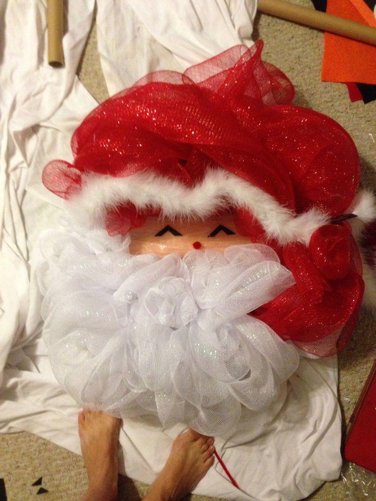 1000+ images about Deco Mesh Santa on Pinterest | Santa ... - photo#15