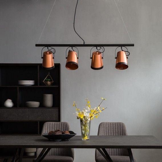 Pendelleuchte Trend Buckets Lampe Esstisch Minimalistische