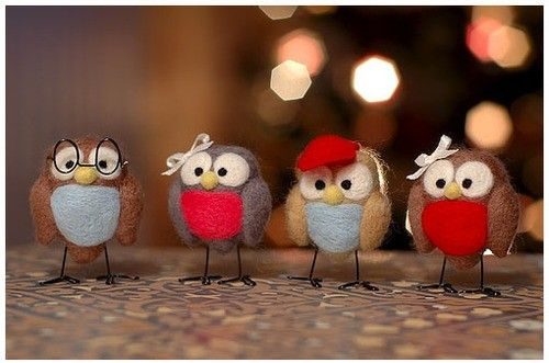 How cute are these little owlettes?
