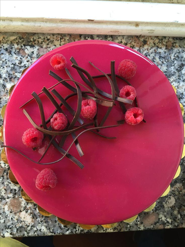 Entremet ai frutti rossi