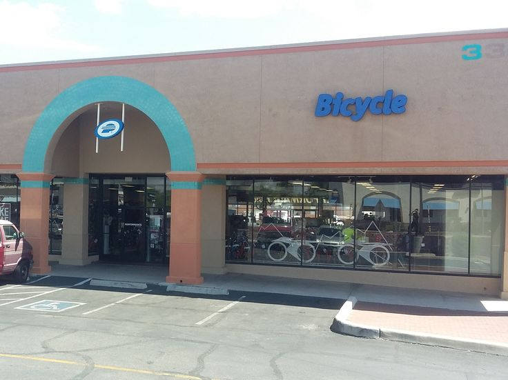 Performance Bicycle   3302 E. Speedway Blvd.  Tucson, AZ 85716  (520) 327-3232  Bikes, accessories and repairs