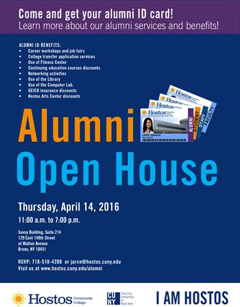 Alumni Open House - Hostos Community College