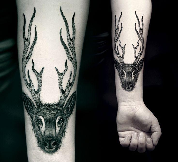 Best Tattoos Images On Pinterest Tatoos Tattoo Inspiration - Polish artist creates elegant animal tattoos finished in vibrant colours
