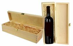 Dřevěný box na víno č. WK 216590/1