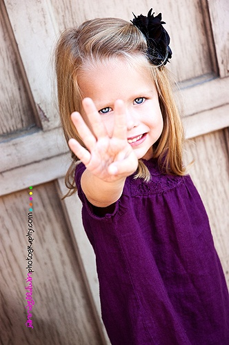 DID this for the twins 5 bday session.  So cute!