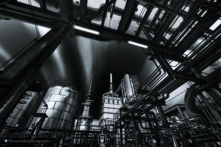 Portrait of a Steel Factory by Beno Saradzic, via 500px