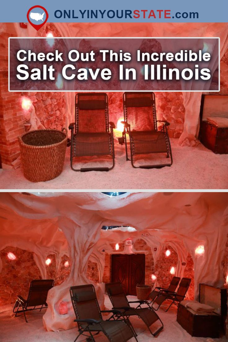 Travel | Illinois | Salt Cave | Relaxation | Spa | Places To Visit | Quiet