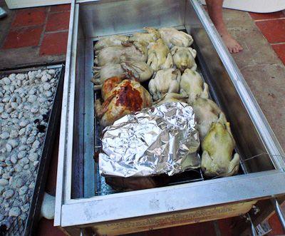 Our La Caja China Held 10 Ens 2 Ducks A Turkey And Pork Shoulder