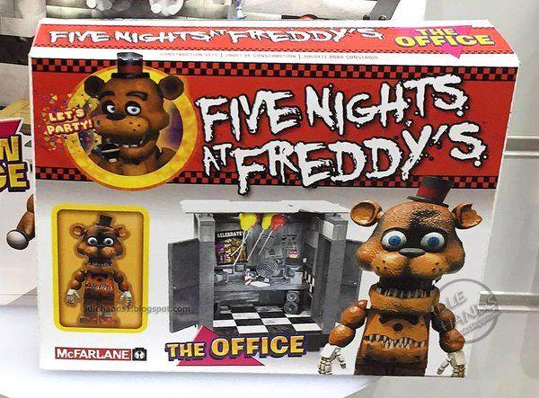 Mcfarlane Toys The Office Fnaf Fnaf Lego Sets Plush